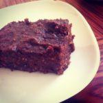 Sund chokoladekage med dadel