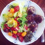 Frikadeller med feta og oliven 1