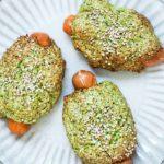 Pølsehorn med broccoli