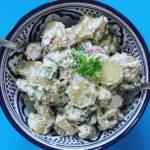 Kold kartoffelsalat med cashewcreme 1