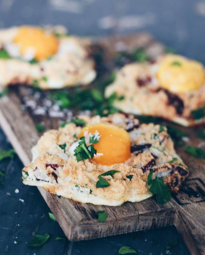 Opskrift på cloudy eggs 1