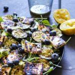 Sommersalat med grillost 1
