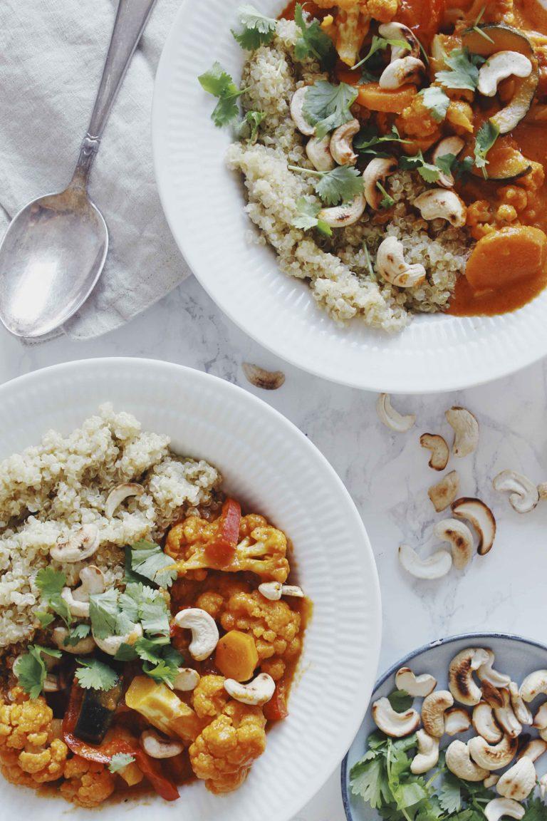 Vegetar panang curry