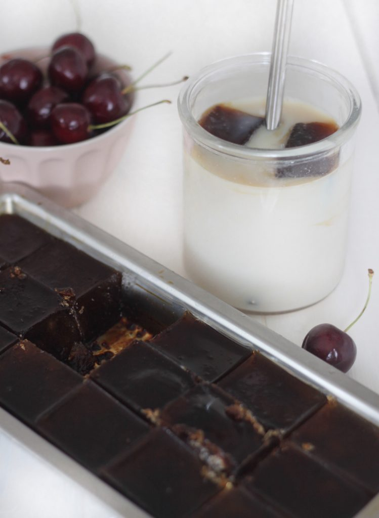 Bæredygtig isterningbakke og kaffeisterninger 5