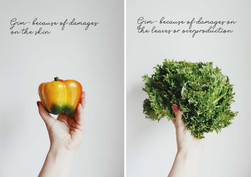Grim grøntsager