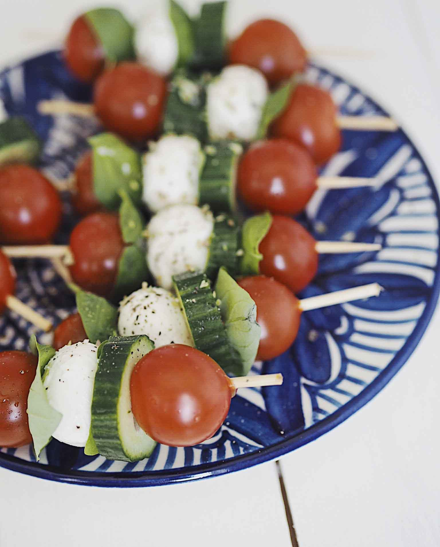 Sticks med tomatsalat