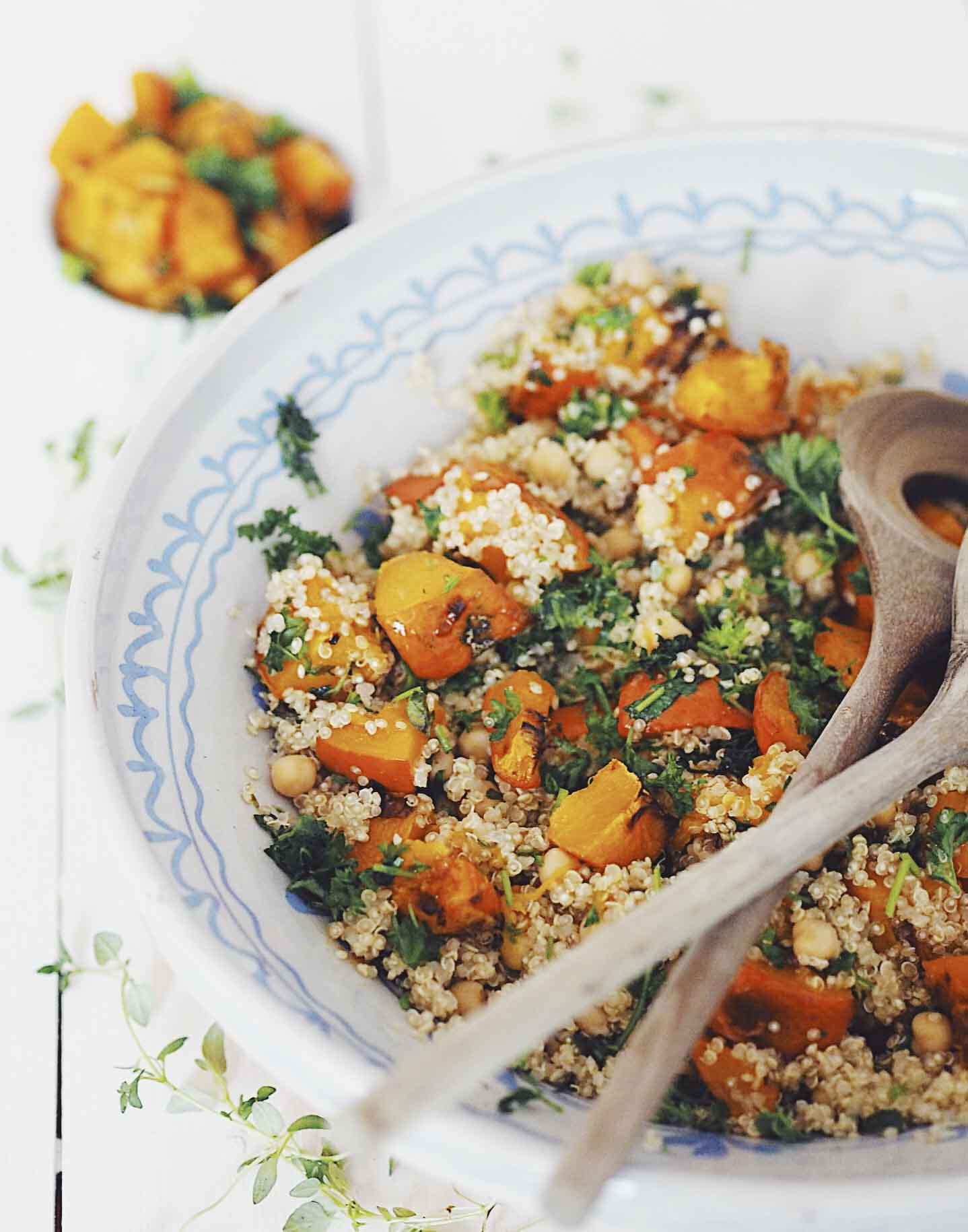 quinoasalat med hokkaido