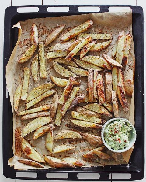Opskrift med kartofler
