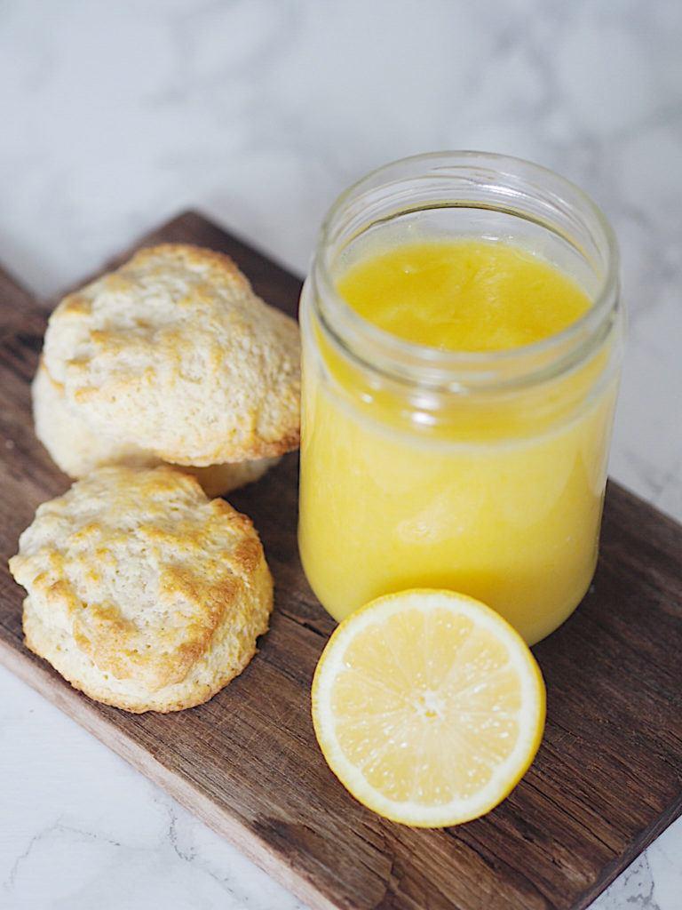 Hjemmelavet lemon curd