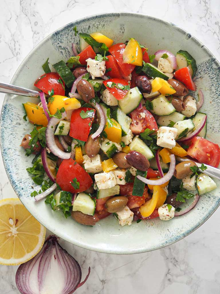 Nem græsk salat
