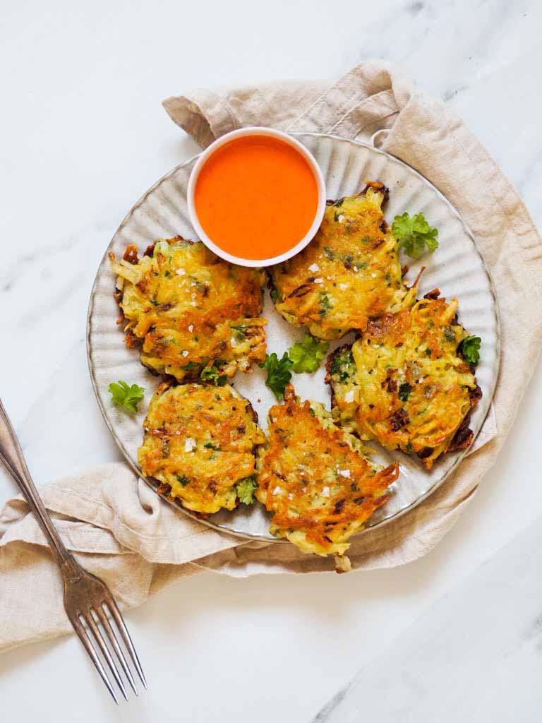 hash browns med kartofler