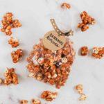 Popcorn med saltkaramel