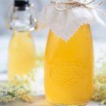 Hjemmelavet hyldeblomstsaft med citron 5