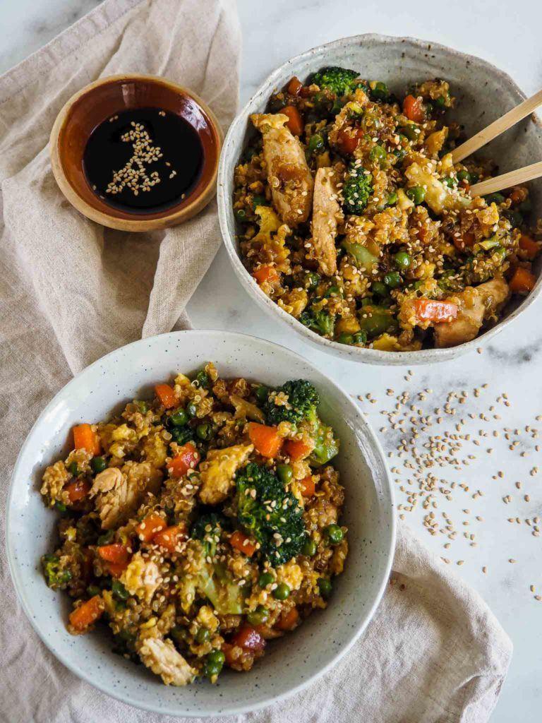 thai ret med kylling og quinoa