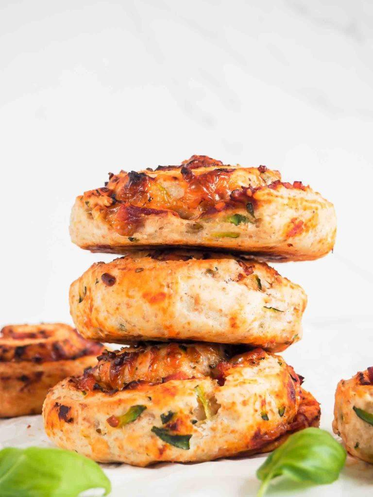 grove og sunde pizzasnegle